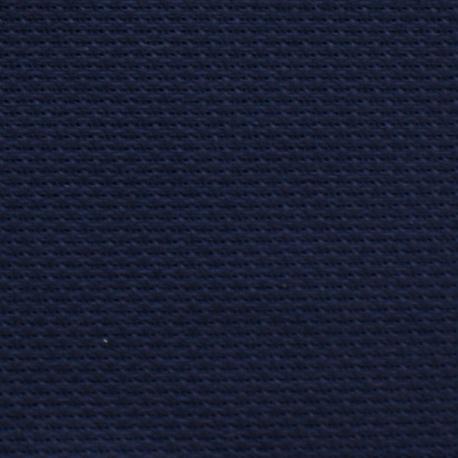 Kanwa AIDA 12ct (46 oczek/10 cm) kolor granatowy - tkanina do haftu krzyżykowego