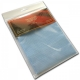 Kanwa AIDA 12ct (46 oczek/10 cm) kolor błękitny - tkanina do haftu krzyżykowego