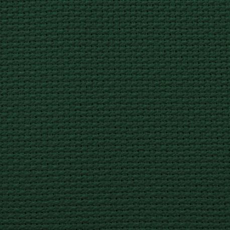 Kanwa AIDA 14ct (54 oczek/10 cm) kolor zielony tkanina do haftu krzyżykoweg