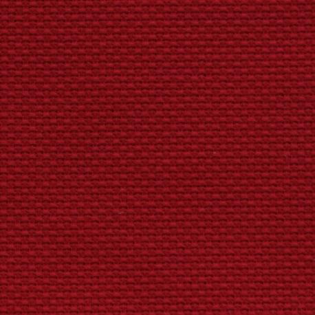 Kanwa AIDA 14ct (54 oczek/10 cm) kolor czerwony tkanina do haftu krzyżykowego