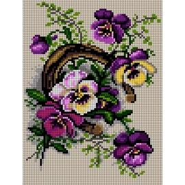 Kwiaty - podkowa (No 5472)