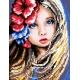 Dziewczynka z kwiatami we włosach (No 5497)
