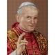 Obrazek do haftu krzyżykowego - kanwa z nadrukiem religijna - Papież Jan Paweł 2 (No 7206)
