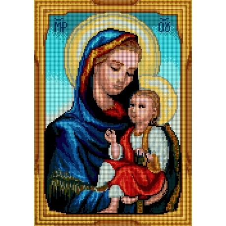 Maryja z dzieciątkiem (No 7244)