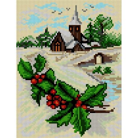 Pejzaż zimowy (No 5805)