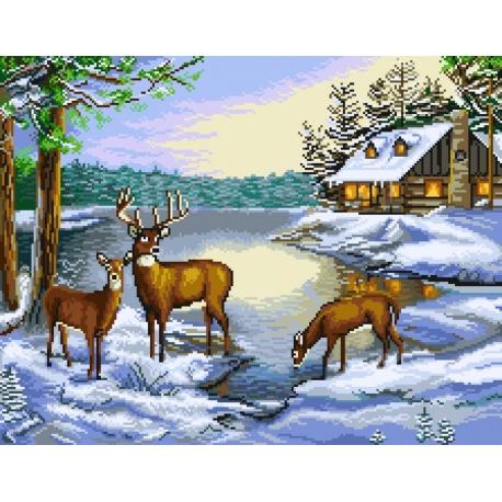 Pejzaż zimowy (No 7219)