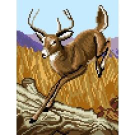 Skaczący jeleń (No 7220)