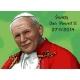 Haft krzyżykowy - do wyboru: kanwa z nadrukiem, nici Ariadna/DMC, wzór graficzny - Święty Jan Paweł II (No 7248) VI