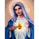 Maryja z sercem (No 7254)