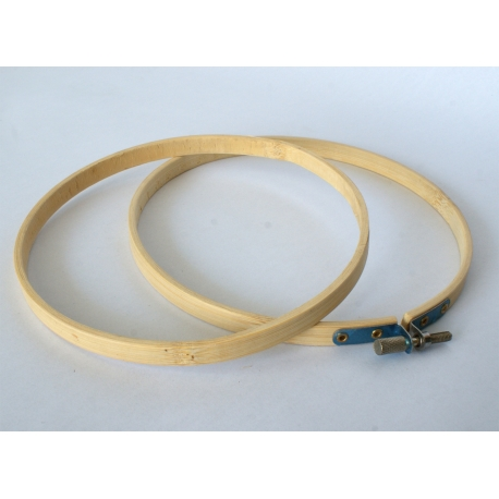 Drewniany tamborek 16 cm