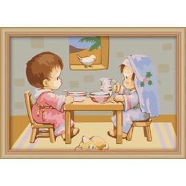 Dzieci przy stole (No MC007)