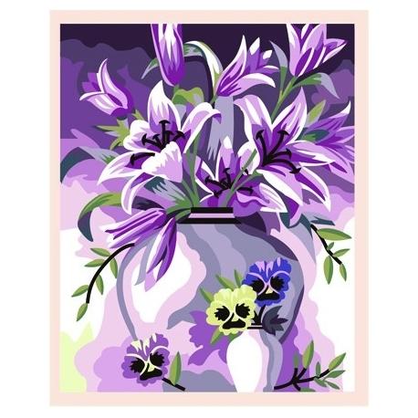 Kwiaty w wazonie (No MG080)