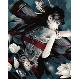 Dziewczyna z tatuażem (No MG269)