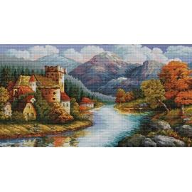 Zamek nad rzeką (No 9789)