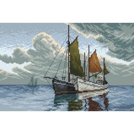 Łodzie na morzu (No 94027)