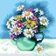 Kwiaty w wazonie (No 5728)