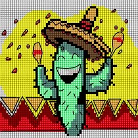 Wesoły kaktus (No 5716)