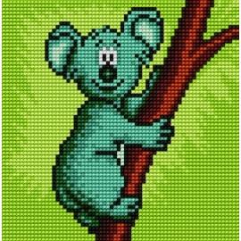 Obrazek do haftu dla dzieci - Miś koala (No 5520)