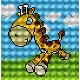 Kanwa do haftu dla dzieci - Żyrafa (No 5510)