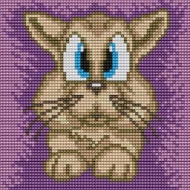 Obrazek do haftu dla dzieci - Kociak (No 5519)