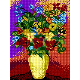 Kwiaty w wazonie (No 5021)