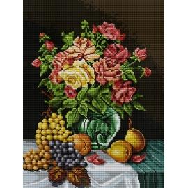 Martwa natura - bukiet róż (No 7045)