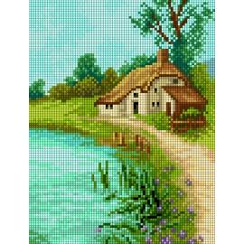 Pejzaż z rzeką (No 5861)