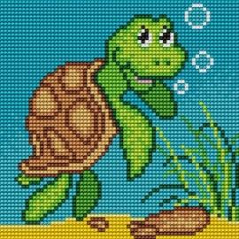 Obrazek do haftu dla dzieci - Żółwik (No 5546)