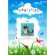 Obrazek do haftu dla dzieci - Foka (No 5830)