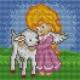 Aniołek z owieczką (No 5552)