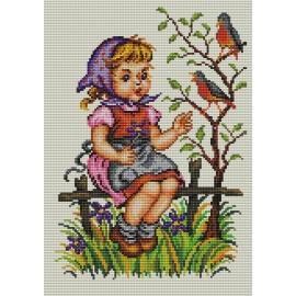Dziewczynka z ptaszkiem (No 5300)