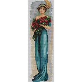 Kobieta z kwiatami (No 94545)