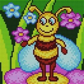Kanwa do haftu krzyżykowego dla dzieci - Pszczółka (No 5556)