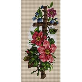 Drewniany krzyż (No 5316)
