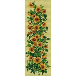 Haft krzyżykowy - obrazek do haftowania - Słoneczniki (No 7018)