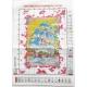 kanwa z kolorowym nadrukiem - printed cross stitch fabrics poland manufacturer