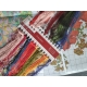 Haft krzyżykowy - Maki na łące zestaw do haftu