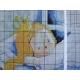Haft krzyżykowy -  Śpiąca królewna wzór na papierze do haftu