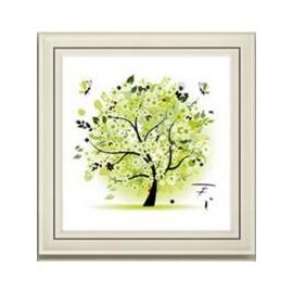 Haft krzyżykowy - Cztery pory roku z drzewem - 3. Jesień - zestaw do haftu