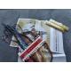 Haft krzyżykowy - Koń z karuzeli - zestaw do haftu na gładkiej kanwie