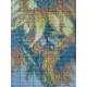 Haft krzyżykowy - Słoneczniki w wazonie wzór na papierze do haftu
