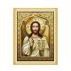 ikona z Jezusem do haftowania