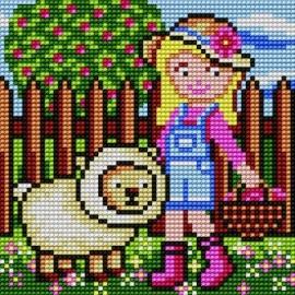 Dziewczynka z owieczka (No 5655)