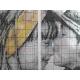 Wzór na papierze do haftu krzyżykowego - Dziecięcy pocałunek