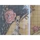 Haft krzyżykowy - Kobieta z różą - zestaw do haftu