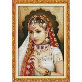 Haft krzyżykowy - Hinduska - zestaw do haftu
