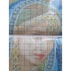 Haft krzyżykowy - Indyjska piękność - wzór na papierze