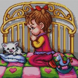 Modlitwa - dziewczynka (No 7128)