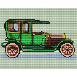 Obrazek do haftowania dla dzieci - Samochód (No 5055)