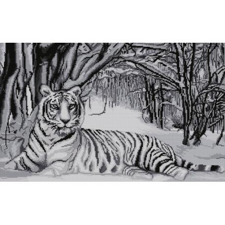 Biały tygrys (No 7166)